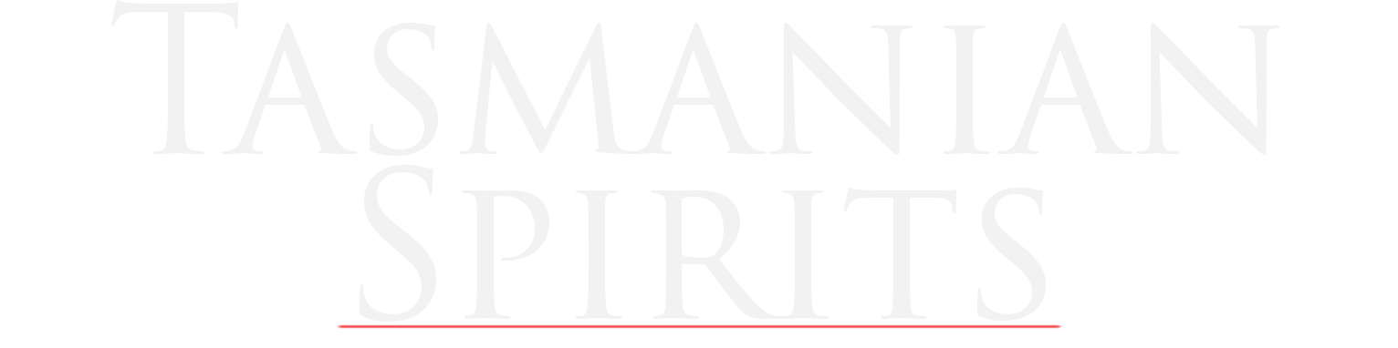 Tasmanian Spirits