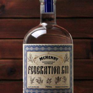BKM-McHenry Federation Gin 42.2% 700ml
