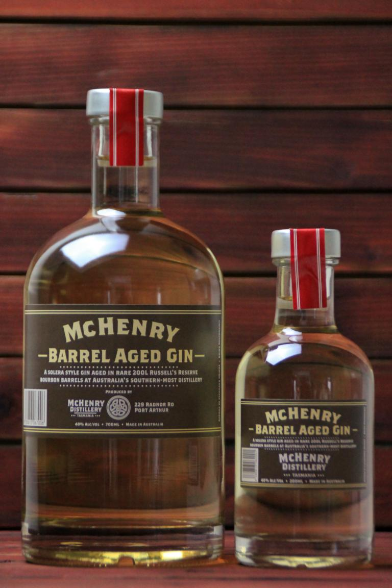 BKM-McHenry Barrel Aged Gin 40% 700ml