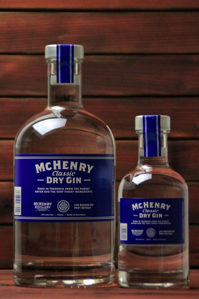 BKM-McHenry Classic Dry Gin 40% 700ml