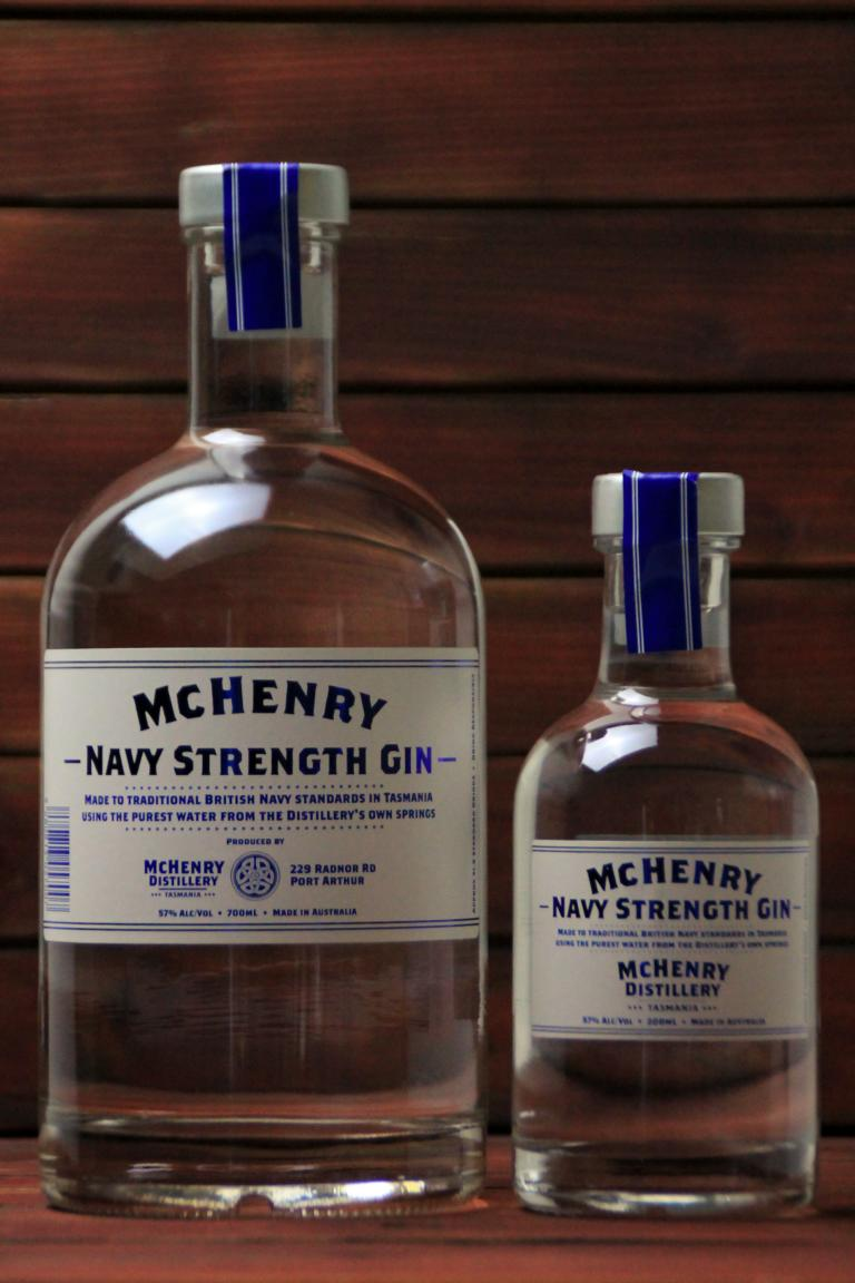 BKM-McHenry Navy Strength Gin 57% 700ml