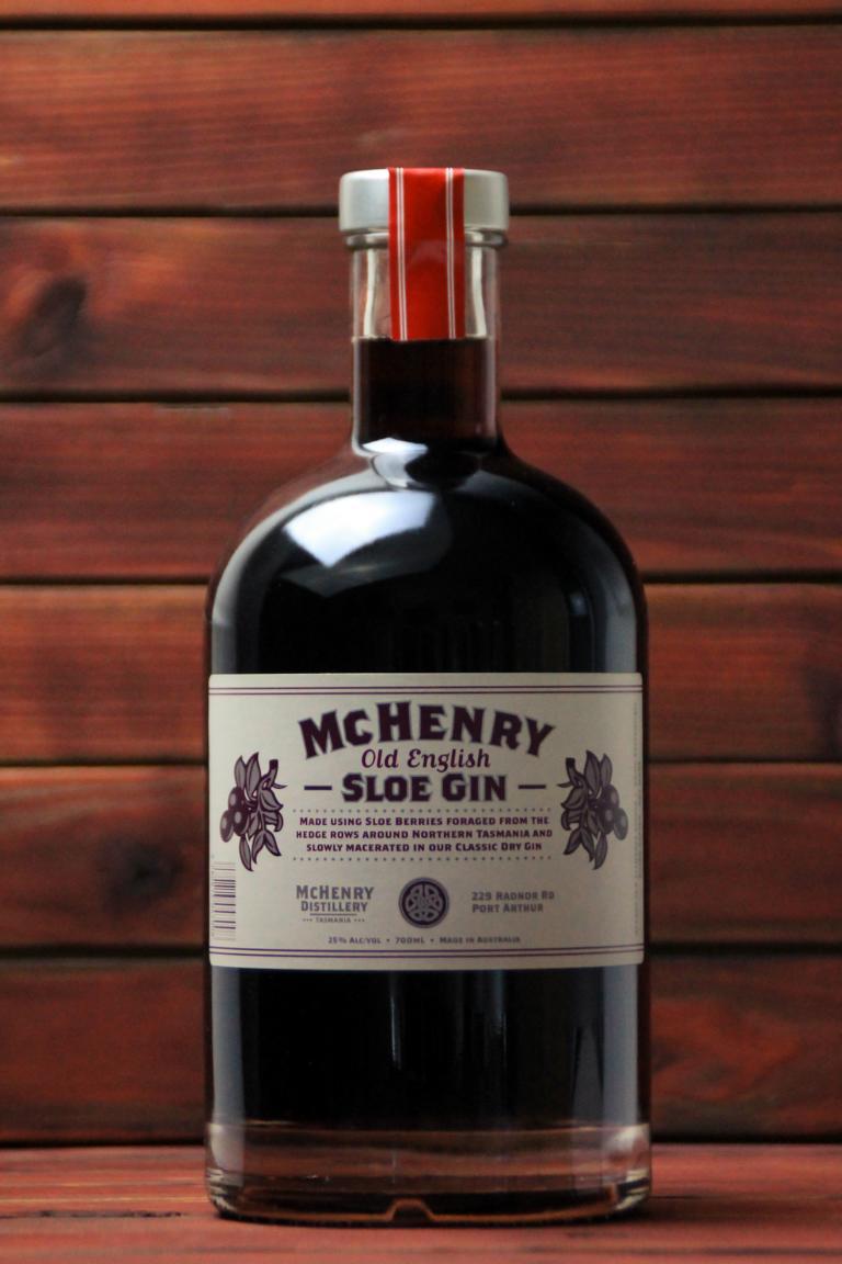 BKM-McHenry Sloe Gin 26% 700ml