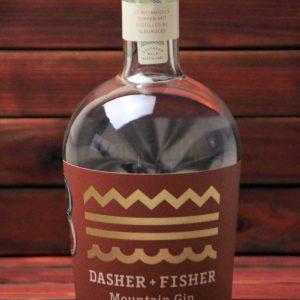 BKM-Dasher and Fisher Mountain Gin 45% 700ml