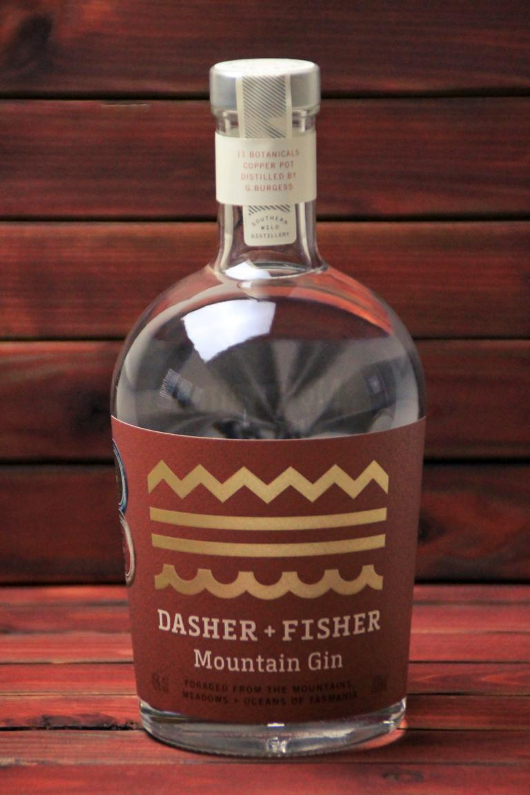 BKM-Dasher and Fisher Mountain Gin 45% 700ml