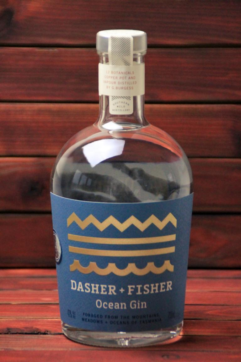 BKM-Dasher and Fisher Ocean Gin 42% 700ml