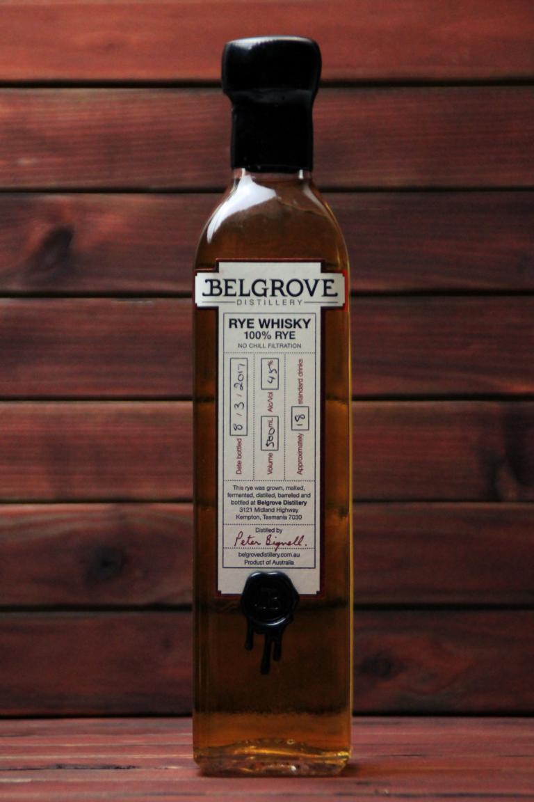 BKM-Rye Whisky 45% 500ml